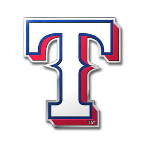 texas rangers 3d color chrome auto home emblem decal baseball ebay rh ebay com  texas rangers baseball logo images