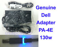 - 5 Lot - Genuine Dell Latitude Power Adapter Pa-4e Ac Charger 130w