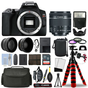 Canon Rebel SL3 DSLR Camera with 18-55mm STM+ 16GB 3 Lens Ultimate Accessory Kit