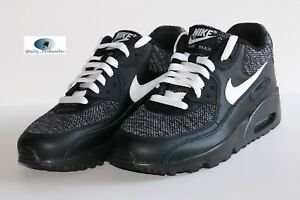 differently 81799 8f3a5 Image is loading Nike-Air-Max-90-Mesh-SE-GS-Black-