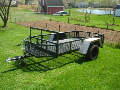 homemade small 7x4 feet utility trailer