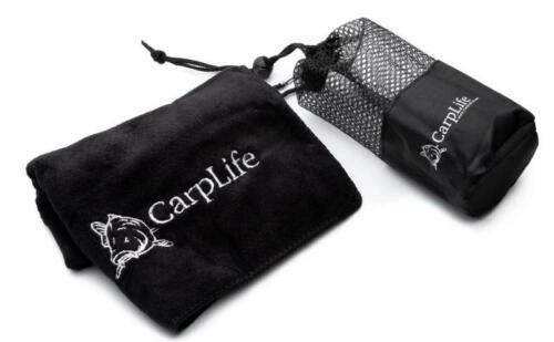 CarpLife Fishing Cutlery Set Etched Carp Fishing Cutlery Set Black Stainless Steel Cutlery Set