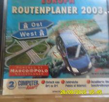 Europa -Routenplaner 2003,Computer Klar 2