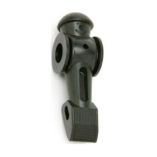 1 TORNADO Foosball foos ball Replacement Man Black Counterbalanced OEM part.