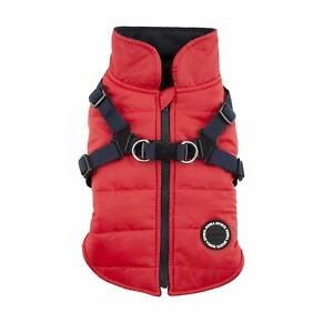 Puppia Mountaineer Ii Manteau D'hiver Pour Chien Rouge Taille Xl