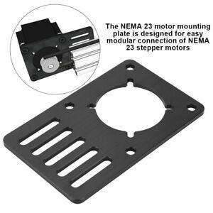 NEMA23-Stepper-Motor-CNC-Mounting-Plate-Motor-Fixed-3D-Printer-Accessories-MS