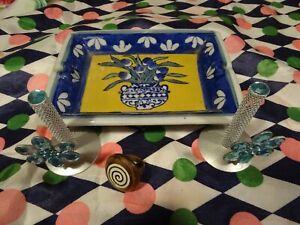 lot-deco-bleue-bague-femme-4pieces