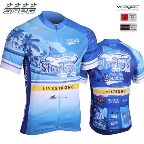 MSRP $79.95 SPEG® 2014 Men/'s Sharkys Florida Cycling Jersey Venice