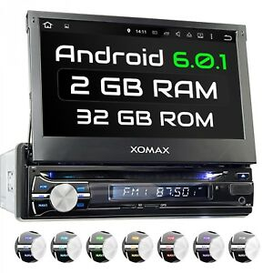ANDROID-6-0-1-AUTORADIO-NAVIGATION-GPS-WIFI-WLAN-OBD2-BLUETOOTH-7-034-PANTALLA-1DIN
