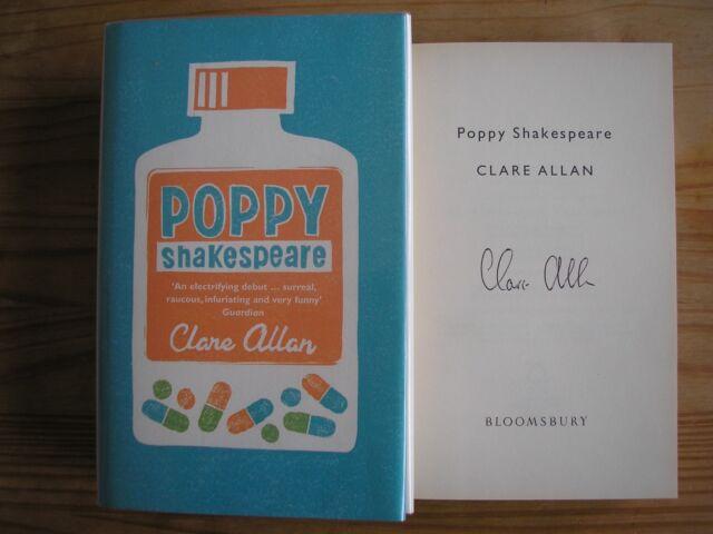 CLARE ALLAN - POPPY SHAKESPEARE  1st/1st  HB/DJ  2006  SIGNED