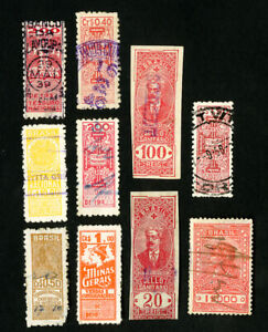 Le-Bresil-timbres-lot-de-10-Early-recettes