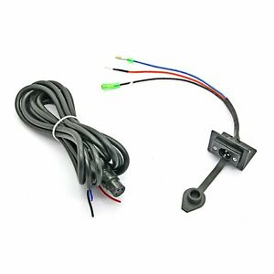 Universal Electric Winch Wireless Remote Replacement Wire Wiring Harness