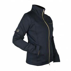 Zipped Soft Shell Show Jacket Navy