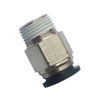 """Empuje neumática Aire Conector Hembra Recta De Ajuste 1//4/""""OD*1//4/""""NPT"""