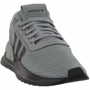 adidas-U-Path-X-Big-Kid-Sneakers-Casual-Sneakers-Grey-Boys-Size-4-5-M