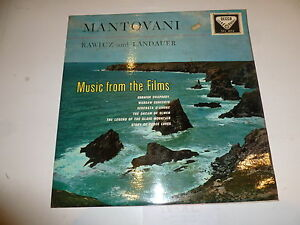MANTOVANI-Music-from-the-Films-1960-039-s-UK-Blue-Decca-Label-Vinyl-LP