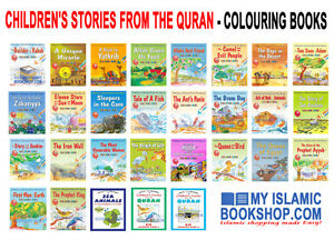 GOODWORD-29-COLOURING-BOOKS-CHILDREN-039-S-STORIES-FROM-THE-QURAN-MUSLIM-KIDS-GIFT