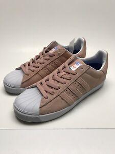 20fcf30781d5 NEW Men s adidas Superstar Vulc ADV Pastel Pink White Haze CG4839 DS ...