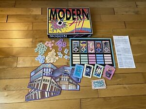 1992-Modern-Art-First-Edition-RARE-Board-Game-By-Reiner-Knizia-COMPLETE