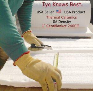 Cerablanket 1 Quot X18 Quot X24 Quot Ceramic Fiber Insulation Blanket 8