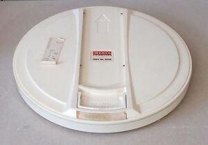 14-034-Magnetic-Plate-Hard-Disk-Drive-Platter-Nixdorf-Computer-VINTAGE-Rarity