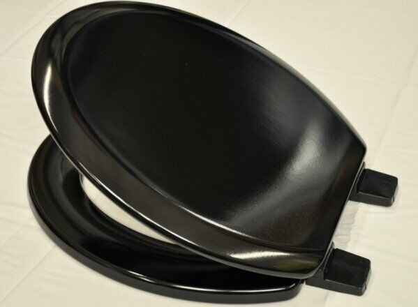 Awe Inspiring Bemis Chicago Sta Tite Moulded Wood Toilet Seat Black Uwap Interior Chair Design Uwaporg