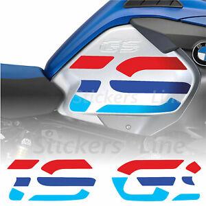 2 Adesivi fianco serbatoio colori BMW R1200GS adventure Anniversary LC R 1200GS