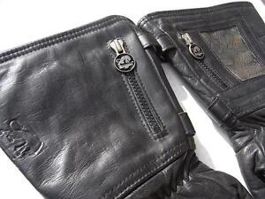 vintage motorrad leder handschuhe 60 70er jahre furygan. Black Bedroom Furniture Sets. Home Design Ideas