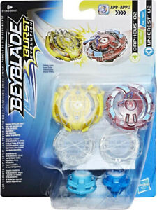 Hasbro Beyblade Burst Evolution Toupie Double Pack Orpheus 02 Unicrest U2 E1068