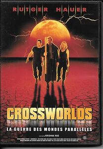 DVD-NEUF-RUTGER-HAUER-CROSSWORLDS-GUERRE-MONDES-PARALLELES