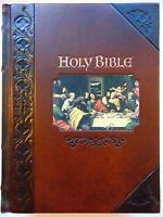 Holy Bible - World Bible - Leather King James Version Family Heritage Edition