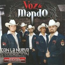 FREE US SHIP. on ANY 2 CDs! NEW CD Voz De Mando: Con La Nueva Federacion