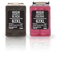 2 Cartuchos de tinta para HP 62 XL OfficeJet 5740 5742 5745 8040 8045 Envy 5540