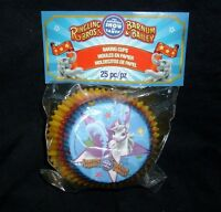 25 Pack Ringling Bros Barnum Bailey Circus Birthday Party Cupcake Baking Cup