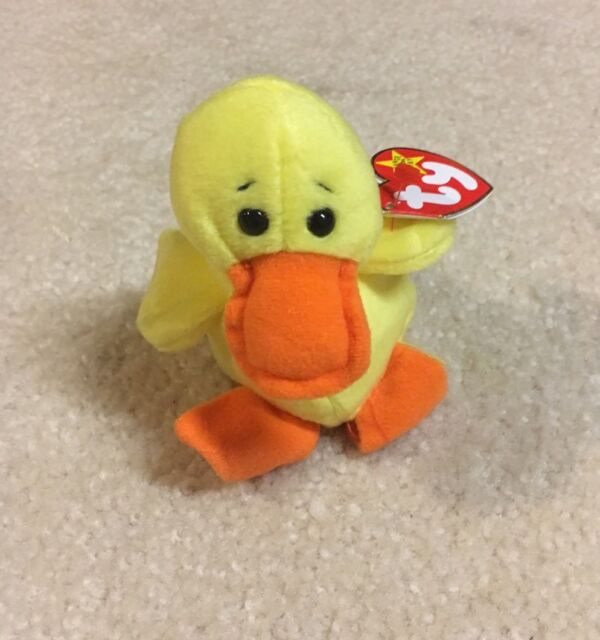 Brand New   Ty Beanie Babies Quackers The Duck Original Collectible 576f5cdcac7