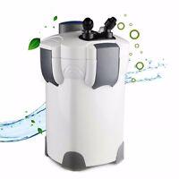 200 Gallon Aquarium Canister Filter Uv 9w Uv Sterilizer Fish Tank Sunsun Hw-304b