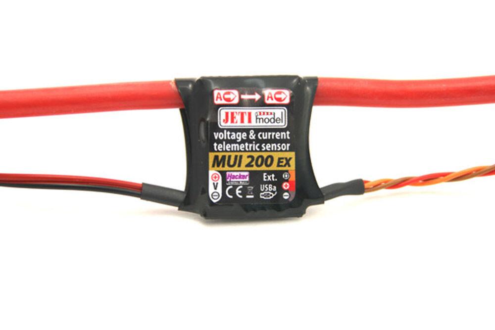 Jeti Model 2,4ghz DUPLEX MUI 200 sollecitazione sensore di corrente