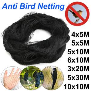 7-Size-Black-Anti-Bird-Netting-Pest-Commercial-Plant-Net-Fruit-Tree-Bird-Netting