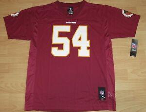 quality design 8a4da 372cc Details about Washington Redskins Mason Foster #54 Football Jersey Size  Youth XL