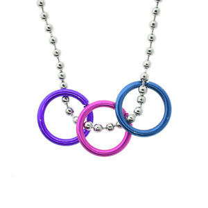 Bisexual necklace