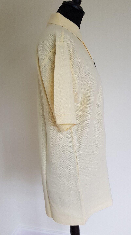 Pringle Sport Berwick Polo Polo Polo con maniche corte. Taglia S. colore Burro. cbf75b