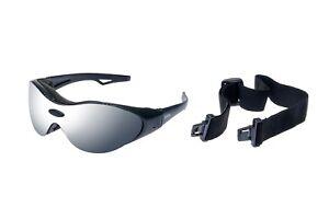 RAVS Sportbrille -Skibrille Schutzbrille Rahmenlos Antifog - Mit Bügel und Band CH8OGHF