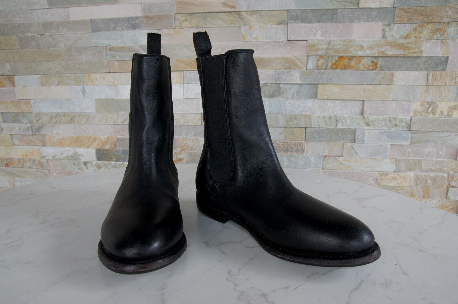Ash N. N. N. 37 Boots Scarpe stivaletti vintage country Patty nero NUOVO UVP 97cff2