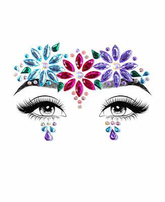 EYE007 Leg Avenue Aria Adhesive Face Jewels Sticker