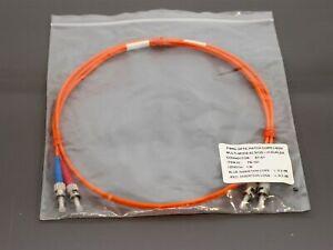 Fibre-optic-patch-cord-LSOH-multi-mode-1m-duplex-orange-cable-new-amp-warranty
