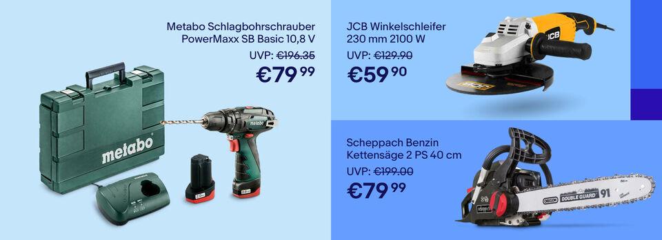 Bis zu 60%* bei Werkzeug sparen – Zur Aktion - Bis zu 60%* bei Werkzeug sparen