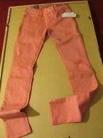 Women's Skinniest Jeans Bullhead Color Pink Size 3.