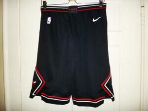 f66ffde8f4f Youth Nike Chicago Bulls NBA Black Statement Edition Swingman Shorts ...