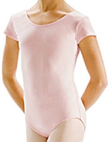 Classwear Dance Motionwear 2105 Pink Cap Sleeve Ballet Leotard Child Large NWT