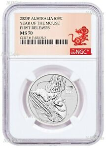2020-Australia-Silver-Lunar-Year-of-the-MOUSE-NGC-MS-70-1-2oz-Half-Dollar-Coin